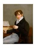 Pierre-Joseph-Guillaume Zimmermann Giclee Print by Antoine-Jean Gros