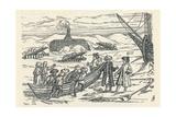 Barents in the Arctic: Hut Wherein We Wintered, 1912 Giclée-Druck von Gerrit de Veer