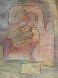 Dancer, 1932 Giclee-trykk av Paul Klee