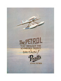 Advert for Pratts Ethyl Petrol, C1928 Giclée-vedos