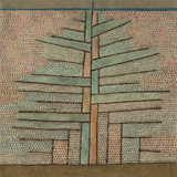Pine Tree, 1932 Giclee Print by Paul Klee