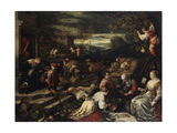 Summer, 16th Century Giclée-tryk af Francesco Bassano