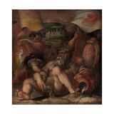 Allegory of Colle Val D'Elsa and San Gimignano, 1563-1565 Giclée-Druck von Giorgio Vasari