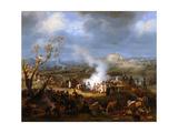 Napoleon's Bivouac on the Eve of Austerlitz, 1 December 1805 Giclée-Druck von Louis-François, Baron Lejeune