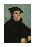Martin Luther (1483-154) at the Age of 50, 1533 Giclée-tryk af Lucas Cranach the Elder