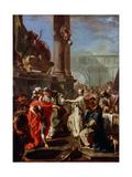 The Sacrifice of Polyxena, 1730s Giclée-tryk af Giovanni Battista Pittoni