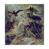 Apotheosis of the French Heroes Who Died for their Country During the War for Freedom Giclée-tryk af Anne-Louis Girodet de Roussy-Trioson