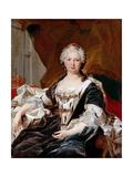Elisabeth Farnese, Queen of Spain Giclée-Druck von Louis Michel Van Loo