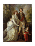 Family Portrait Giclee Print by Angelica Kauffmann