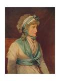 Sarah Siddons (1755-183), 18th Century English Tragic Actress, 1906 Giclee Print by John Russell