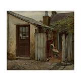 Girl with Bird at the King Street Bakery, 1886 Giclée-Druck von Frederick McCubbin