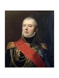 Étienne Jacques Joseph Alexandre Macdonald, 1st Duke of Taranto (1765-184) Giclee Print by Antoine-Jean Gros