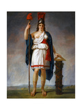 Allegorical Figure of the French Republic Giclee Print by Antoine-Jean Gros