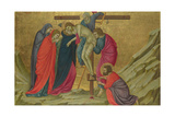The Deposition (From the Basilica of Santa Croce, Florenc), C. 1324-1325 Giclee Print by Ugolino Di Nerio