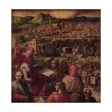 Arnolfo Di Cambio Shows the Plan to Enlarge Florence, 1563-1565 Giclée-Druck von Giorgio Vasari