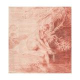 Diana Bathing, C. 1716 Giclee Print by Jean Antoine Watteau