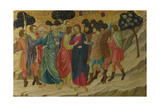 The Betrayal of Christ (From the Basilica of Santa Croce, Florenc), C. 1324-1325 Giclee Print by Ugolino Di Nerio