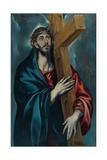 Christ Carrying the Cross Lámina giclée por  El Greco