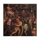 Triumph after the Victory of Pisa, 1563-1565 Giclée-Druck von Giorgio Vasari