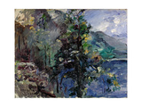 Jochberg at the Lake of Walchensee Gicléetryck av Lovis Corinth