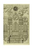 The Harmony of the Birth of the World (Harmonia Nascentis Mund) from Musurgia Universalis Giclee Print by Athanasius Kircher