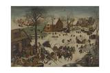 The Census at Bethlehem (The Numbering at Bethlehe), 1566 Giclee Print by Pieter Bruegel the Elder