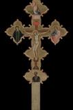 Portable, Double Sided Cross, 1335-1340 Giclée-tryk af Bernardo Daddi