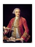 Portrait of Manuel De Roda Giclée-tryk af Pompeo Girolamo Batoni