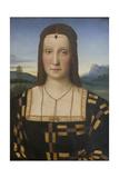 Portrait of Elisabetta Gonzaga (1471-152) Reproduction procédé giclée par  Raphael