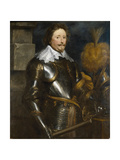 Portrait of Frederick Henry, Prince of Orange (1584-164) Giclée-Druck von Sir Anthony Van Dyck