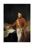 Portrait of Napoleon Bonaparte as First Consul Giclée-tryk af Anne-Louis Girodet de Roussy-Trioson