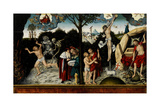 Allegory of Law and Grace, after 1529 Giclee Print by Lucas Cranach the Elder