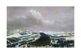 The Battle of Preussisch-Eylau on February 8, 1807 Giclée-Druck von Jean-Antoine-Siméon Fort