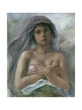 Innocentia (Innocence), 1890 Gicléetryck av Lovis Corinth