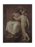 Jupiter Kissing Ganymede Giclee Print by Anton Raphael Mengs
