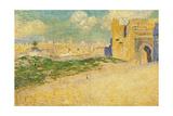 The Mansur Gate in Meknes, Morocco Gicléetryck av Théo van Rysselberghe