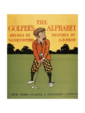 The Golfer's Alphabet Giclee Print by Arthur Burdett Frost