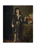 Portrait of Charles II of England as Child Giclée-Druck von Sir Anthony Van Dyck