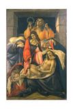 The Lamentation over the Dead Christ, 1495-1500 Reproduction procédé giclée par Sandro Botticelli