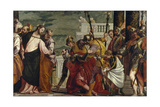 Jesus Healing the Servant of a Centurion Giclée-tryk af Paolo Veronese