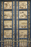 The Gates of Paradise in the Florence Baptistry (Cop), 1425-1452 Giclée-tryk af Lorenzo Ghiberti