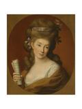Portrait of Princess Izabela Elzbieta Potocka, Née Lubomirska (1736-181) Giclée-tryk af Pompeo Girolamo Batoni