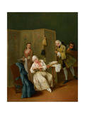 The Indiscreet Gentleman Giclee Print by Pietro Longhi