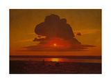 Red Sunset on the Dnieper, 1905-1908 Giclee Print by Arkhip Ivanovich Kuindzhi