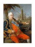 Pierre André De Suffren De Saint Tropez (1729-178) Giclée-tryk af Pompeo Girolamo Batoni