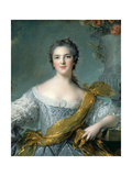 Marie Louise Thérèse Victoire of France (1733-179) Giclee Print by Jean-Marc Nattier