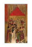 Apparition of Saint Michael at the Castle of Sant'Angelo Giclee Print by Jaume Huguet