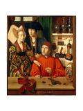 A Goldsmith in His Shop Lámina giclée por Petrus Christus