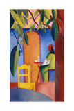 Turkish Cafe Giclee Print by August Macke