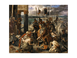 The Entry of the Crusaders in Constantinople Giclee Print by Eugene Delacroix
